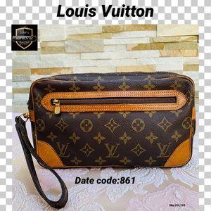 Louis Vuitton second Bag Marly dragonne monogram